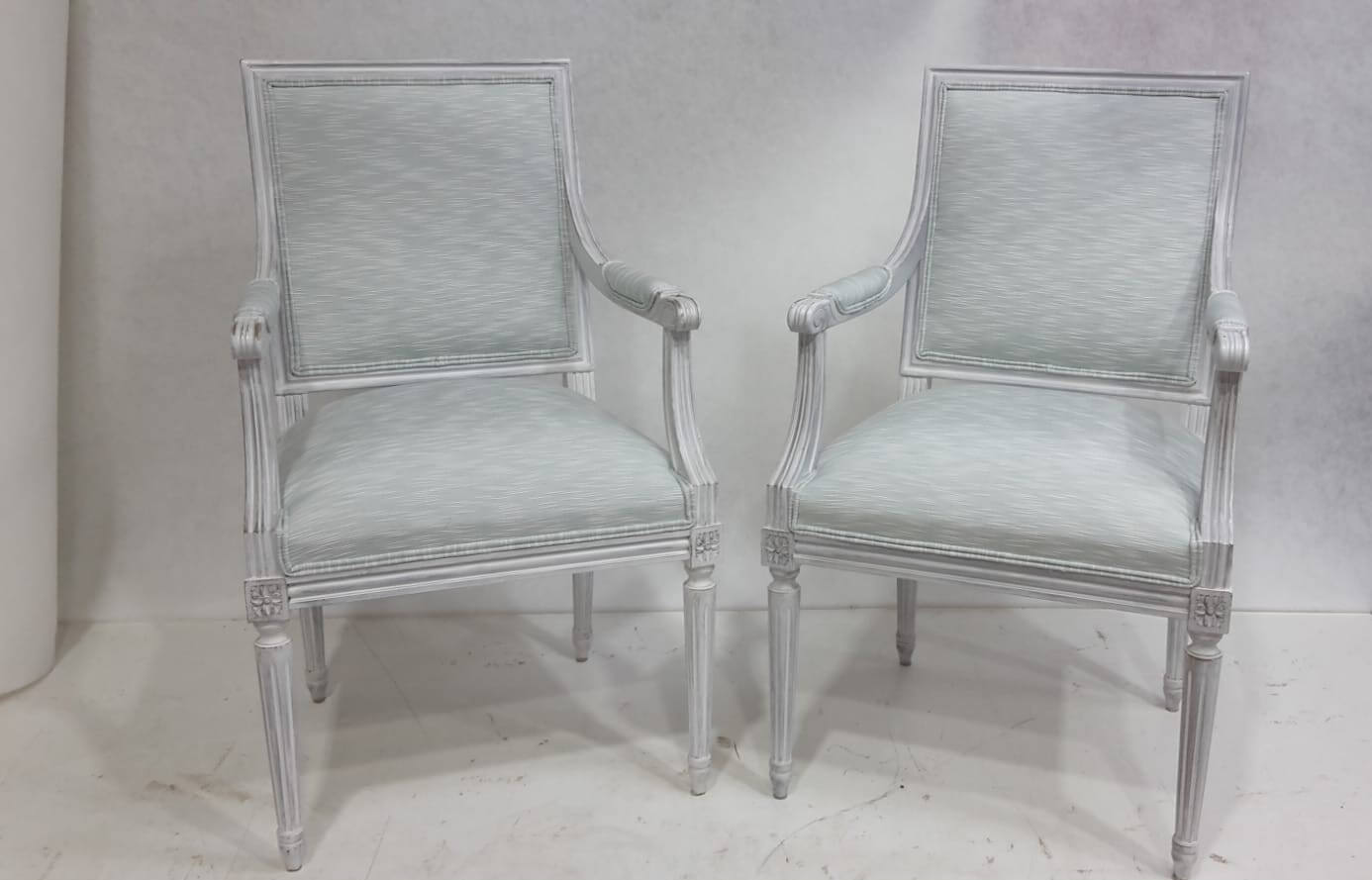 white-louis-chairs